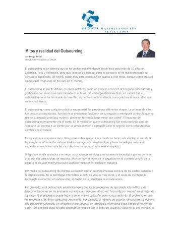 Outsourcing - NETDEAL Empresa de servicios agregados que ...