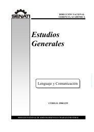 Lenguaje y Comunicación - Senati