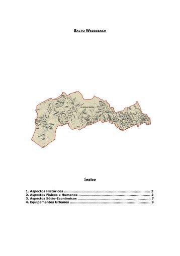 bairro Salto Weissbach - Prefeitura Municipal de Blumenau