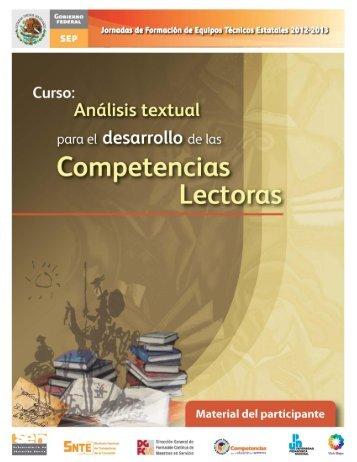Análisis textual para el desarrollo de las competencias lectoras - SEV
