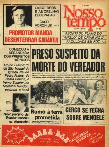 ?ROMOTOR MANDA DESENTERRAR CADÃYER Rumo à terra ...