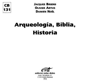 Arqueologia Biblia Historia - Comunidad de San Juan
