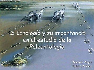 La Icnología y su importancia en el estudio - Sociedad ...