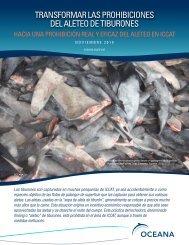 Transformar las prohibiciones del aleteo de tiburones - Oceana