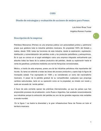 CASO Diseño de estrategias y evaluación de acciones de ... - Pearson