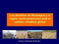 Los desafíos de Nicaragua y la región centroamericana ... - pidaassa