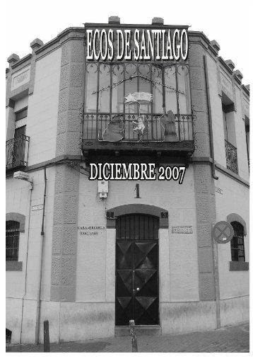 Ecos de Santiago. Diciembre 2007 - Casa Escuela Santiago Uno