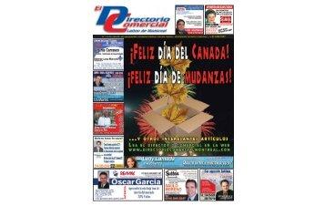 Vol. 7 • No. 08 • Edición 308 • del 2 al 8 de julio del 2009 ...