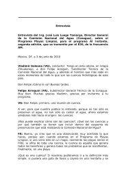 Felipe Arreguín: VI Encuentro Nacional de Playas Limpias - Conagua