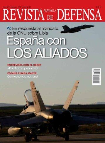 Núm. 272. Abril. Operación internacional en Libia - Ministerio de ...