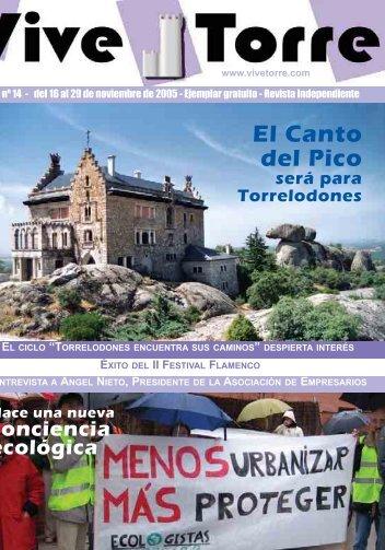 El Canto del Pico - Vive Torre