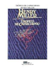TRÓPICO DE CAPRICORNIO HENRY MILLER - GutenScape.com
