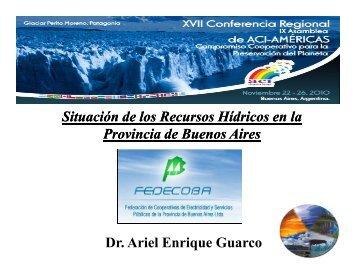 Situación de los Recursos Hídricos en la Provincia de Buenos Aires ...