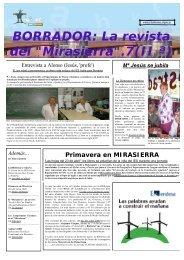 Revista Borrador 07/08 - IES Mirasierra - Comunidad de Madrid