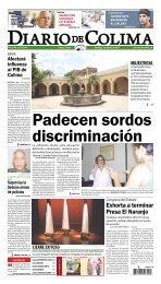 Exhorta a terminar Presa El Naranjo - Universidad de Colima