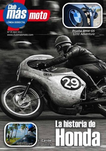 revista Club más moto en PDF