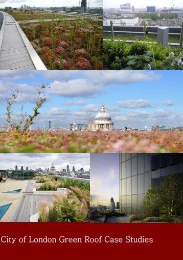 City of London Green Roof Case Studies