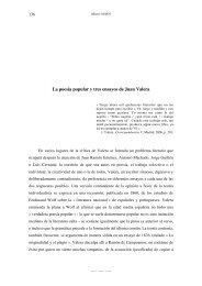 La poesía popular y tres ensayos de Juan Valera - CREC