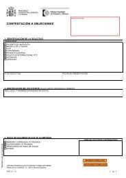 Contestación a objeciones - Oficina Española de Patentes y Marcas