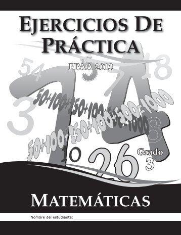 3 EJERCICIOS DE PRÁCTICA - IntraEdu