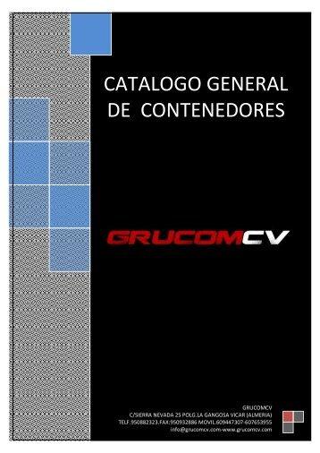 Catálogo general de contenedores - Interempresas