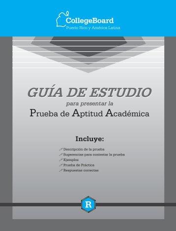 Guía de estudios PAA - Universidad Tecnológica de Panamá