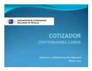 eCTS_manual del usuario_Cotizador contenedores llenos - ICAVE