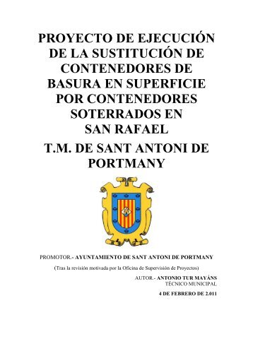 documento i - Ajuntament Sant Antoni de Portmany