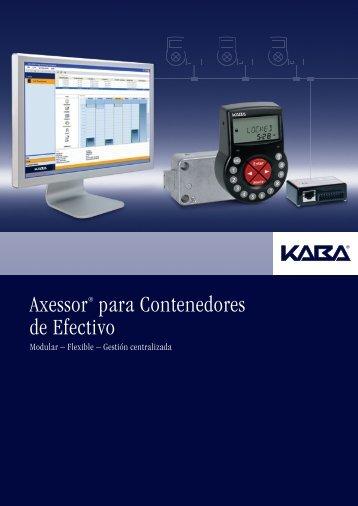 Axessor® para Contenedores de Efectivo