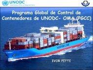 Programa Global de Control de Contenedores de ... - cocatram