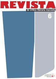 Revista de crítica literaria marxista, nº 6 (2012) - Fundación de ...