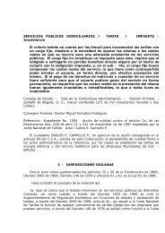 SERVICIOS PUBLICOS DOMICILIARIOS / TARIFA ... - Acolgen