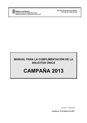 Dossier Ayudas PAC - Navarra