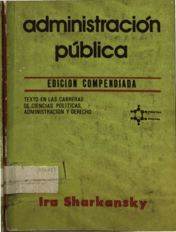 edición compendiada - Instituto Nacional de Administración Pública ...