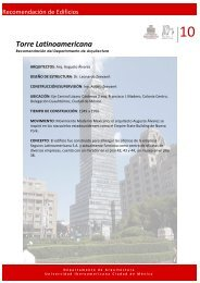Torre Latinoamericana - Departamento de Arquitectura ...