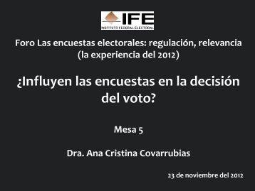 Ana Cristina Covarrubias