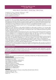 Análisis de cobre en orina por SPE - FAAS