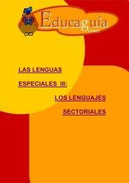 Lenguajes Sectoriales - Educaguia