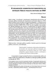 A orgAnizAção ADminiSTrATivo-burocráTicA DA - UTP