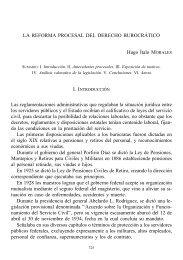 La reforma procesal del derecho burocrático
