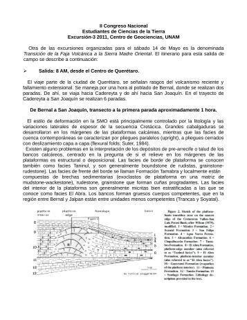 Consulta aquí mayor información - Centro de Geociencias ::.. UNAM