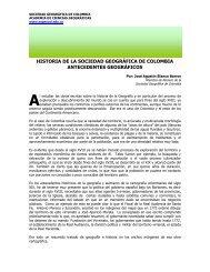 historia de la sociedad geográfica de colombia antecedentes ...