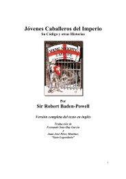 Jovenes Caballeros del Imperio - Baden-Powell - The Dump