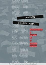Nación Golpeadora - Red chilena contra la violencia hacia las ...