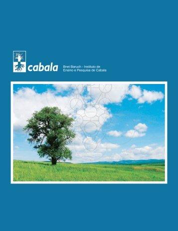 cabala Bnei Baruch - Instituto de Ensino e Pesquisa ... - Kabbalah.info