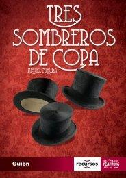 Tres_sombreros_de_copa_Guión
