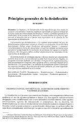 Principios generales de la desinfección - OIE