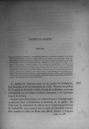 Capítulo Sesto - Bicentenario