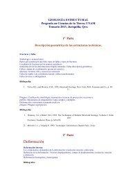 Programa - Centro de Geociencias ::.. UNAM