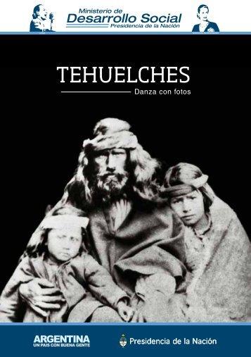 Tehuelches. Danza con fotos (libro) - Ministerio de Desarrollo Social